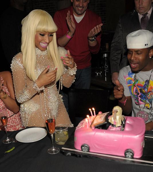 Magnificent Nicki Minaj Barbie Cake Tha Inferno Hott Spot Personalised Birthday Cards Paralily Jamesorg